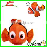 Finding nemo 2 finding Dory stuff plush doll toys Pendant Clownfish key chain