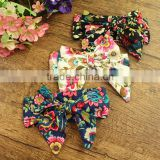 2016 cotton hairband childrens hair bows top baby headband
