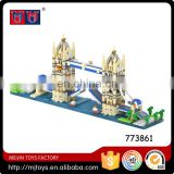 1833pcs building block for London Tower Bridge diamond block for sale