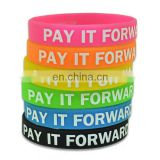 2014 Promotional Silicone Wristband