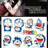 Cartoon decorative body temporary tattoo sticker