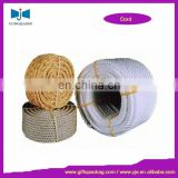 3mm- 50mm twisted cotton rope for packing