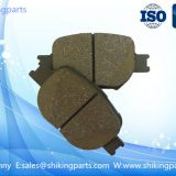D817 brake pads for Toyota, semi metallic material,good wear-resisting
