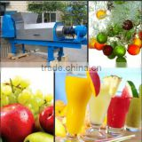 Double Spiral squeeze juice extractor/spiral extract juice machine/fruit processing machine