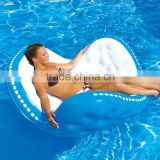 2016 new design inflatable water floating lounge chair,inflatable floating chair for sale