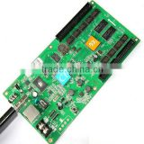 CE ROHS 384*128 asynchronous USB ethernet port 3G module hd-c1 full color led display card