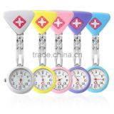 100% factory wholesale Quartz with Clip Vogue nurse watch doctor watch clock pocket watch