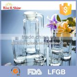 Best Seller borosilicate glass fruit infuser glass water pitcher