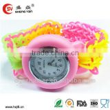 2014 New design silicone apple shape children watchs