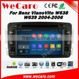Wecaro WC-MB7507 Android 5.1.1 Car multimedia system for benz Viano Vito W638 W639 2004 2005 2006 autoradio gps stereo