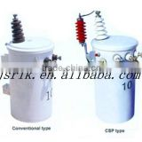 Single-phase pole-mounted transformers