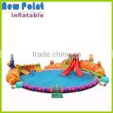 2015 summer hot products inflatable water slide parks