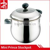 Stainless Steel Mini Prince Saucepan Non-stick Cookware Set