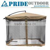 Summer New Outdoor Shade Gazebo With Aluminium Profile For Pop Up Mosquito Net