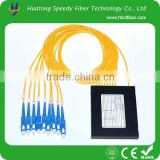 China manufacturer Optic Splitter PLC Free Shipping SC Port SM Fiber Optic Splitter Box Cable