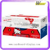 Cute Hello Kitty Custom Printing Tissue Cardboard Packaging Box