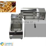 Automatic 5L Churros food trailer Machine For Sale Made Of Stainless Steel With CE Certification (SUNRRY SY-CH5B)
