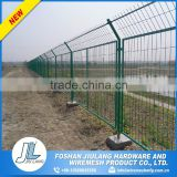 oxidation resisting pvc panels woven wire mesh fence