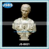 carved marble stone Roman Greek Bust