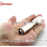 Goread C47 R2 stainless steel 3W high bright rechargeable 14500 LED Torch