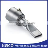 20mm Wide Slot Weld Flat Nozzle, Push-Fit for Leister Triac Hot Air Tool