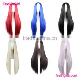 hot sale silky straight synthetic wig long hair wig