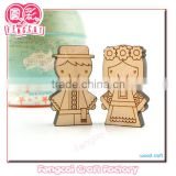 Travel Souvenir Custom Wooden Animal Lovely Bear Fridge Magnet(Wood gift/craft/art in Laser Cut & Engraving)