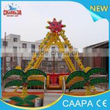 2016 CE costume games child indoor playground mini theme park Viking Ship