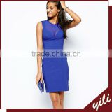 customized bodycon mesh neck forever new dresses