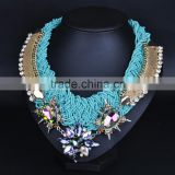 2016 New Arrival Handmade Multi-layer Beaded Necklace Alloy Necklace Fashion Jewelry N5497                                                                         Quality Choice