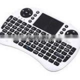 2016 Hot sale Rii Mini i8 Wireless Keyboard with Touchpad for PC Pad Google Andriod TV Box MIni PC