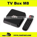 2014 new Android 4.4 S802 Quad Core M8 Android 4.4 Android Tv Box M8                                                                         Quality Choice