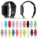 Luxury Silicon Bracelet strap for Apple watch