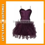 PGWC2814 Top selling dark purple ballet dress supplier mysterious girls night dress wholesale ballet costume