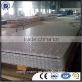 5052 Ribbed aluminum sheet for boat