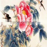 Waterproof Silky Satin Cloth for chinese oil painting reproduction