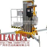 CE and ISO9001:2008 Certificated Guangzhou LEADER Aerial Person Lift--Single Personnel Lift Platform
