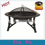 35 inch High quality black fire pit