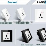 new system smart wifi remote control by wall socket from Lanbon via IOS and android phone APP