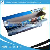 high quality hot sell household aluminium foil roll for food with FDA, SGS, HACCP, KOSHER certification