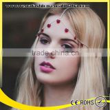belly dance hair accessories heart indian head jewelry, head piece jewelry