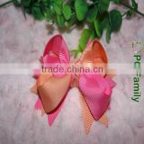 Wholesale colorful grosgrain boutique hair bows for girls                                                                         Quality Choice