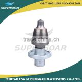 strong abrasive resistance tungsten carbide bullet teeth of medium or large road milling machine