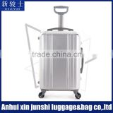 4 Wheels Aluminium Luggage Aluminium And Magnesium Alloys Material Luggage Aluminum Suitcase