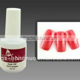 Glitter Red Soak Off UV Gel Polish 15ml For Nail Art HN1100