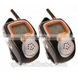 Two Way Radio Built-in Microphone handsfree talker walkie talkie wrist watch interphone
