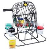 Creative design Party shot drinking game / shot glass drink party/Lottery Style Drinking Game