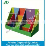 Retail shop costom printed counter display storage box counter display