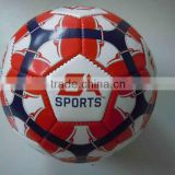 colorful design pvc EA soccer football for training and match