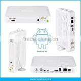 AZCLASS A9 Android TV Box Twin Tuner SKS IKS DVB-S2 Android IPTV Box Az class A9 for South America